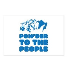 Powder To The People Postcards (Package of 8)