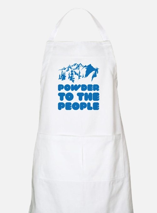 Powder To The People Apron