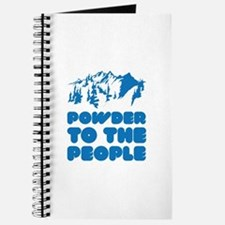 Powder To The People Journal