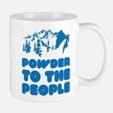 Powder To The People Small Small Mug
