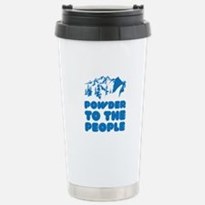 Powder To The People Travel Mug