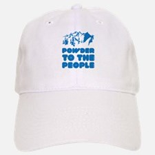 Powder To The People Baseball Baseball Cap