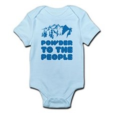 Powder To The People Infant Bodysuit