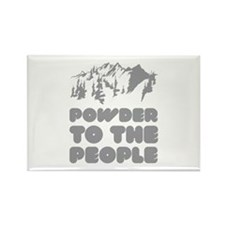 Powder To The People Rectangle Magnet