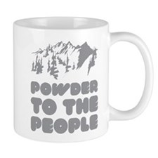 Powder To The People Mug