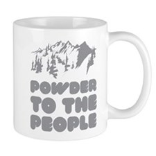 Powder To The People Small Mug