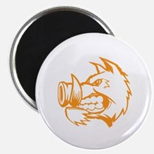 Orange Boar. Magnet