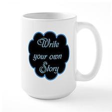 Write your own story Ceramic Mugs