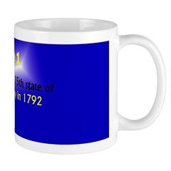 Mug: Kentucky became the 15th state of the United