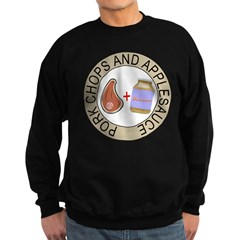 Pork Chops & Applesauce Sweatshirt (dark)