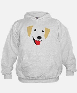 Yellow Lab's Face Hoodie