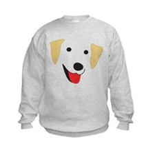 Yellow Lab's Face Sweatshirt