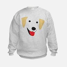 Yellow Lab's Face Sweatshirt