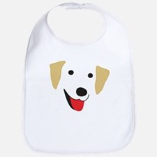 Yellow Lab's Face Bib
