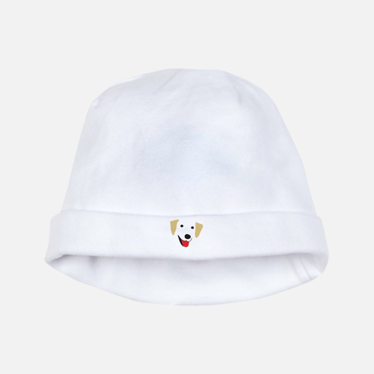 Yellow Lab's Face baby hat