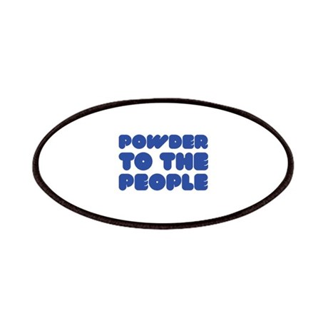Powder To The People Patches