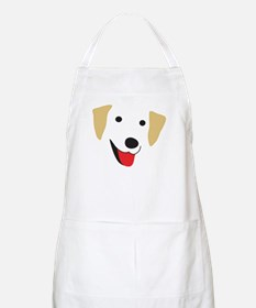 Yellow Lab's Face Apron