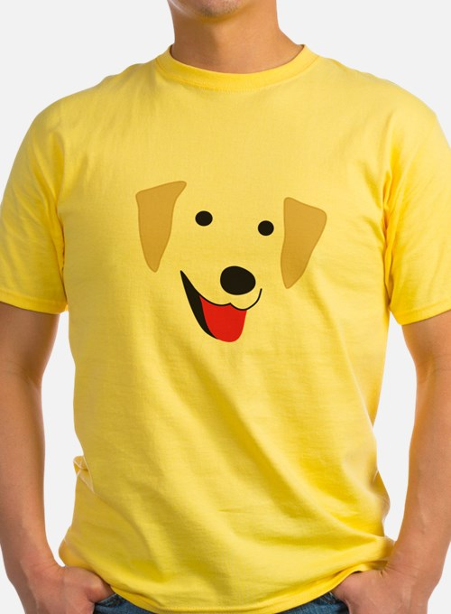 Yellow Lab's Face T
