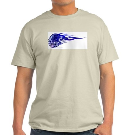 Cool Flaming Skull T-Shirt