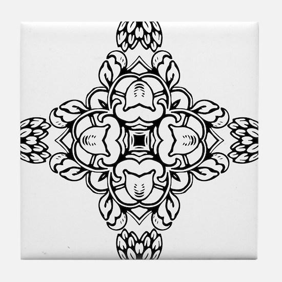 Cute 40s Tile Coaster