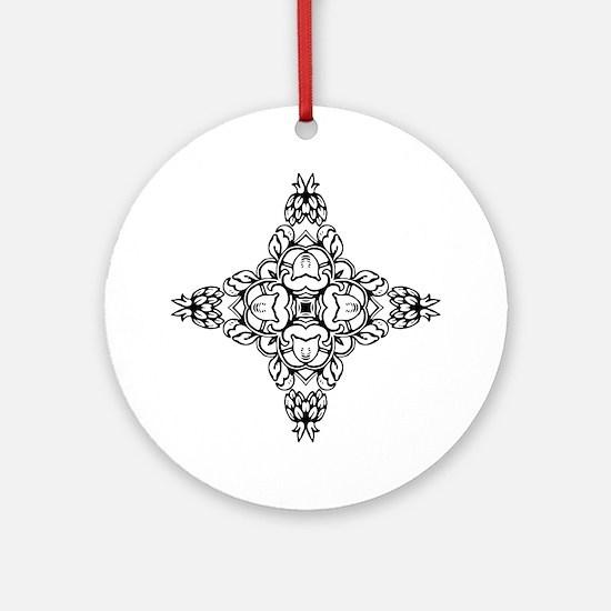 Unique Original design Round Ornament