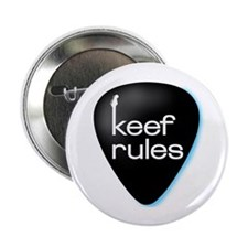 KEEF RULES Guitar Pick Button