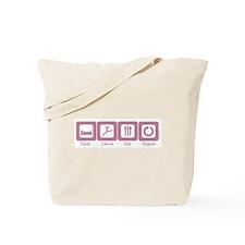 Sleep- Dance- Eat- Repeat Tote Bag