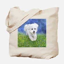 Unique Bichon Tote Bag