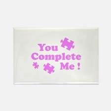 You Complete Me ! Rectangle Magnet (100 pack)