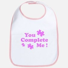 You Complete Me ! Bib