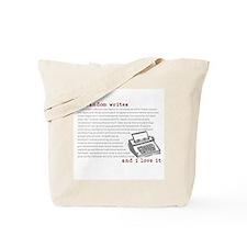 My Fandom Writes Tote Bag