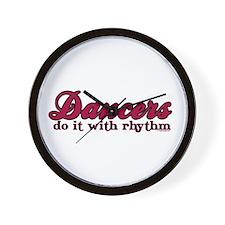 Dancers Do It with Rhythm Wall Clock
