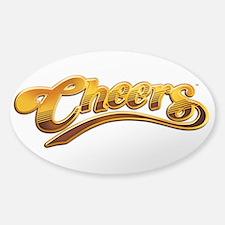 Cheers TV Show Retro Sticker (Oval)