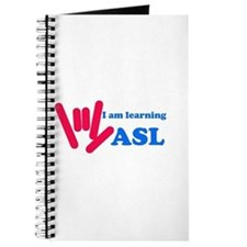 Learning ASL: Red and Blue Journal
