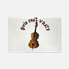 String Upright Double Bass Rectangle Magnet