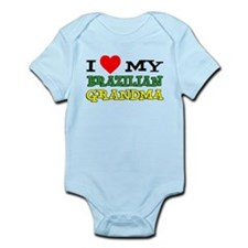 I Love Brazilian Grandma Infant Bodysuit