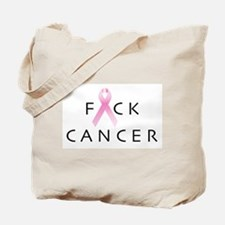 Unique Fuck cancer Tote Bag