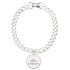 Cute Fuck cancer Bracelet