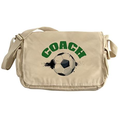 Soccer Coach Messenger Bag