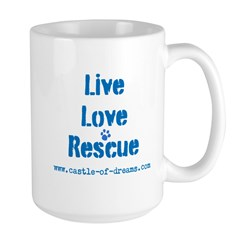 Live Love Rescue Large Mug