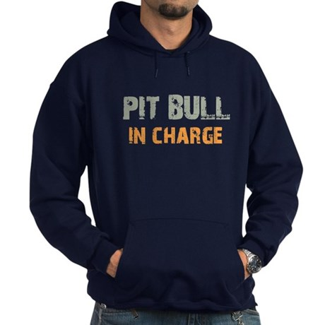 Pit Bull IN CHARGE Hoodie (dark)