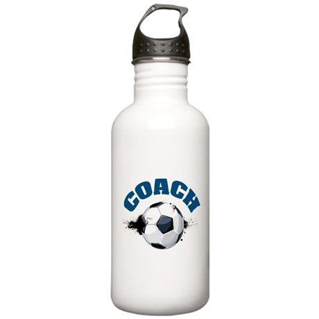 Soccer Coach Stainless Water Bottle 1.0L
