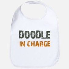 Doodle IN CHARGE Bib