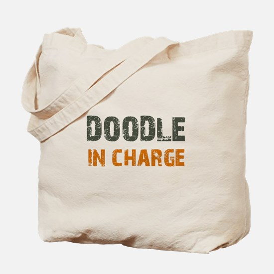 Doodle IN CHARGE Tote Bag