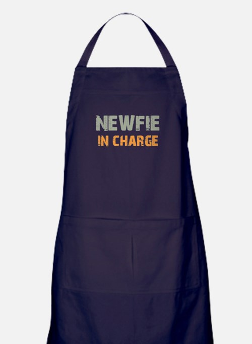 Newfie IN CHARGE Apron (dark)