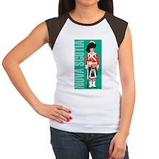 Vintage Nova Scotia Women's Cap Sleeve T-Shirt