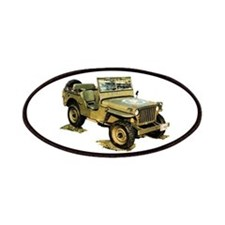 Willys Jeep Patches