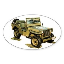 Willys Jeep Decal