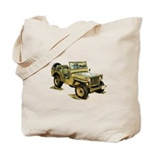 Willys Jeep Tote Bag