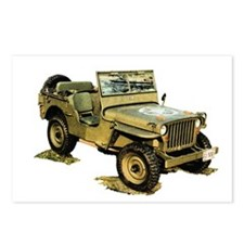 Willys Jeep Postcards (Package of 8)